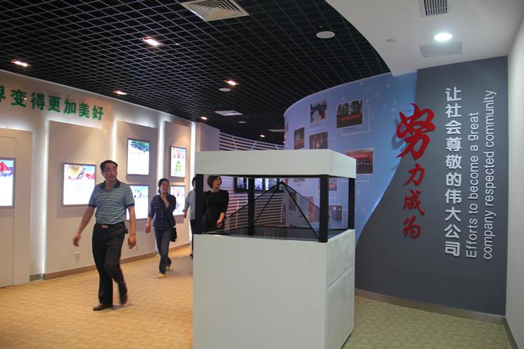 红宝丽集团大楼导示系统